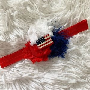 Other - Red, White, & Blue American Flag Headband